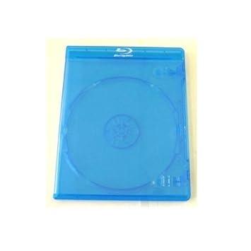 Mediarange - Juego de cajas para Blu-Ray (11 mm, 10 unidades, capacidad 1 disco)