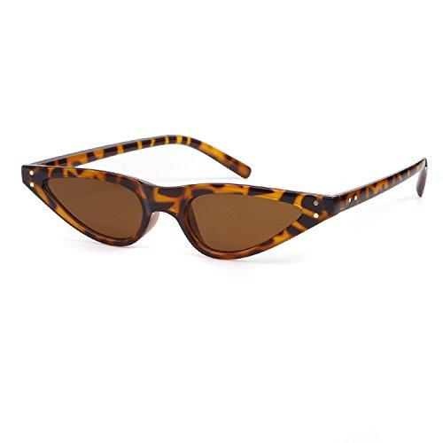 Cat Eye Sunglasses For Women Vintage Retro Small Plastic Frame - Sunglasses For Cool Teens