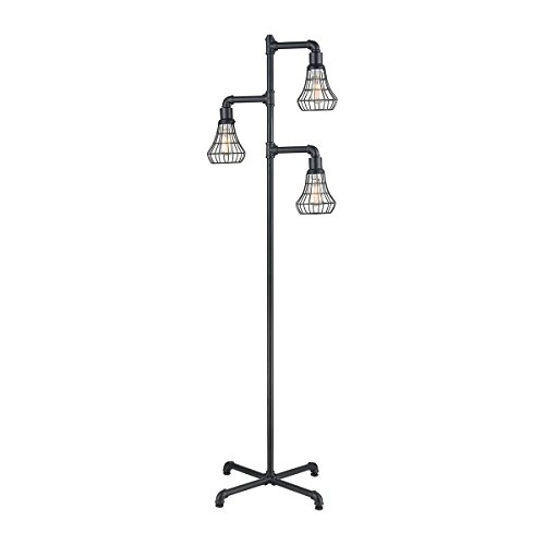 - Diamond Lighting D3783 Floor lamp Pewter