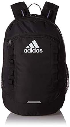 adidas Excel Backpack, Unisex-Adult, Backpack, 104638, Black/Black/White, One Size
