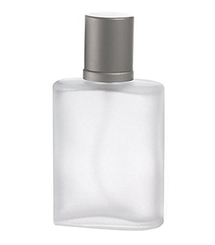 1PC 30ml/1 Oz Empty Refillable Frosted Glass Spray Perfume Bottle Atomizer Container With Lid For Travel Or Gift
