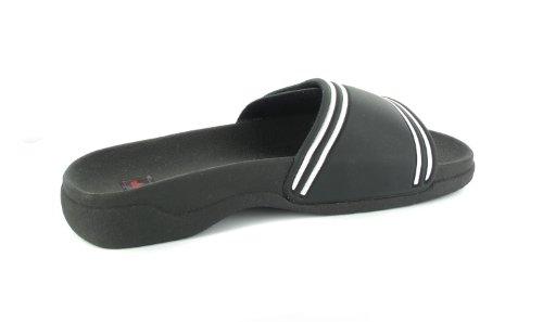 Banham Lico Que Tamanhos Senhoras Sandálias Banhando Sapatos Frouxos Mais Pretos Em qHE1Hrf