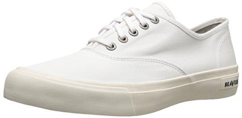 SeaVees Men's Legend Sneaker Pan Am, Bleach, 11 M US