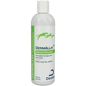 Dechra DermAllay Oatmeal Shampoo for Pets, 12-Ounce