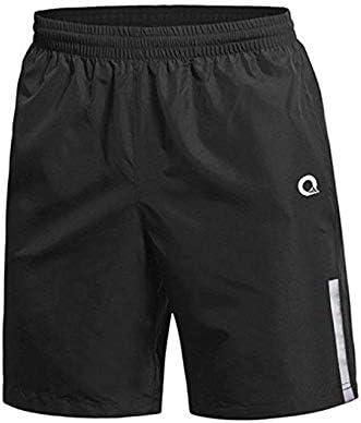 Da Uomo in Pile Jogging Palestra Casual Pantaloncini Nero Navy Grigio Tasche Con Zip elastico in vita
