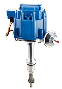Taylor Cable 640630 HEI Performance Replacement Distributor Incl. Housing/Shaft/Volt Coil w/Dust Cover/Module/Distributor Cap/Rotor w/Brass Terminals HEI Performance Replacement - Incl Cap Distributor