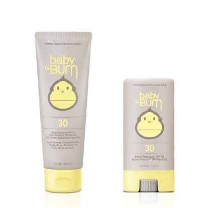 Sun Bum SPF 30 Baby Bum Lotion & Face Stick Combo Pack