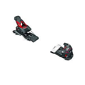 4Frnt Attack 13 Alpine Ski Binding, Black/Red