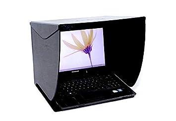 Cinematics PCHood - Monitor Hood 17-inches portátil LCD ordenador de sobremesa Pantalla campana nb-17: Amazon.es: Electrónica