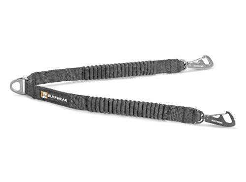 Ruffwear Double Track Coupler, Two-Dog Leash Connector, Granite Gray (Splitters Track)