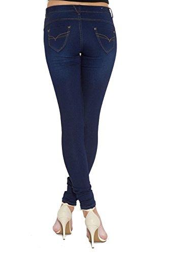 Divadames Jeans Divadames Donna Jeans 636 blue Donna 18qfHw6qn