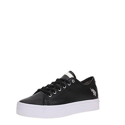 U.S. Polo Assn. TRIXY4110S7/YL1 Sneakers Donna Sintetico BLK BLK 37