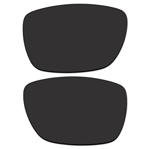 Replacement Black Polarized Lenses for Oakley Tinfoil Carbon Sunglasses