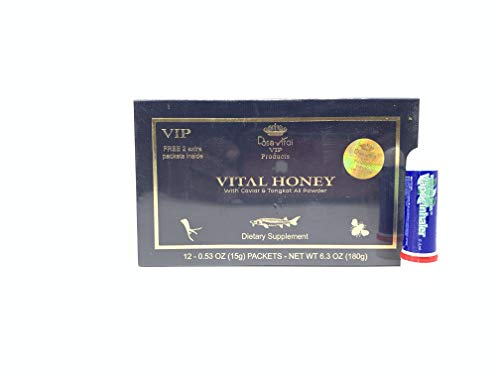 Natural Bee Honey Supplement 12 Pack Black Sealed Original Gold Sold by S and L Free Gift