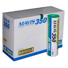 Yonex Mavis 350 Nylon Badminton Shuttles, Pack of 10  Yellow