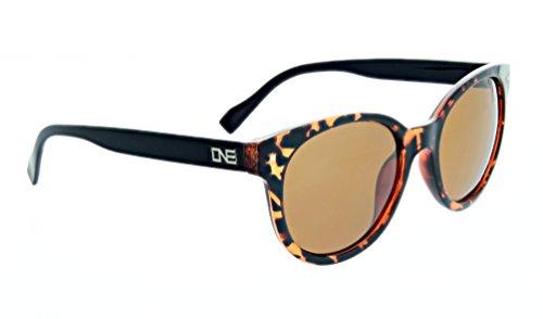 Optic Nerve Women's One Hotplate Sunglasses Frame, Shiny Honey - Glasses Face Shape An For Oval Of What