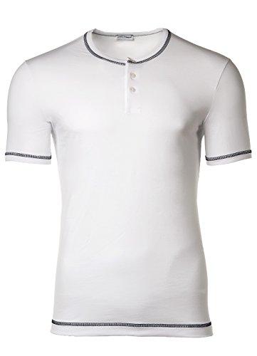 Dolce & Gabbana Underwear Men's T-Shirt Serafino, D & G S-XL - Dark blue or white: Colour: White | Size: - Gabbana Dolce And Blue Dark