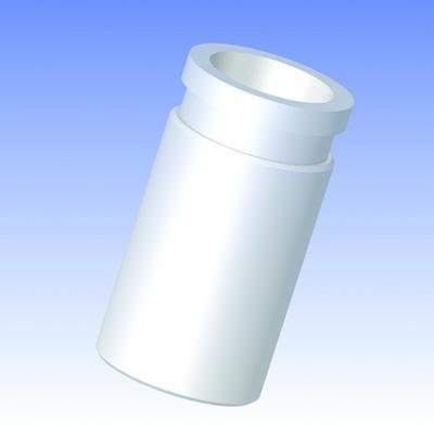 ACE GLASS 5223-58 Series PTFE Adapter, 24/40 to 58-400 Thread