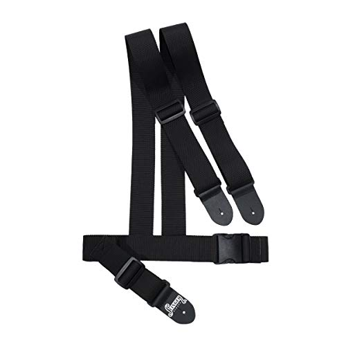 Harness Strap Guitar Strap | Double Strap to Reduce & Balance the Shoulder Weight