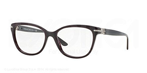 Versace Eyeglasses VE3205B 5123 Violet 54 16 - Purple Glasses Versace