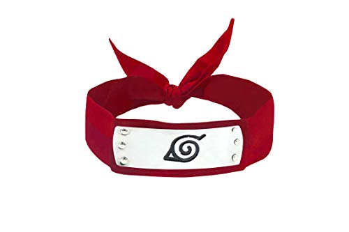 - DAZCOS Japanese Anime for Red Leaf Village Headband (Red)