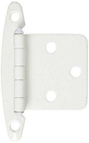 kitchen cabinet hinges white - 2