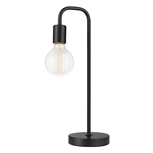 Globe Electric 12920 Table Lamp, 0, Black