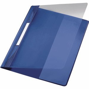 Leitz 10 x Plastik-Hefter Exquisit A4 PVC PVC PVC mit Innentasche blau B006W60SZS | Speichern  a07486