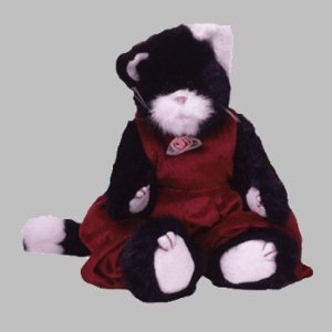 TY Attic Treasure - EBONY the Cat (large approx. 12