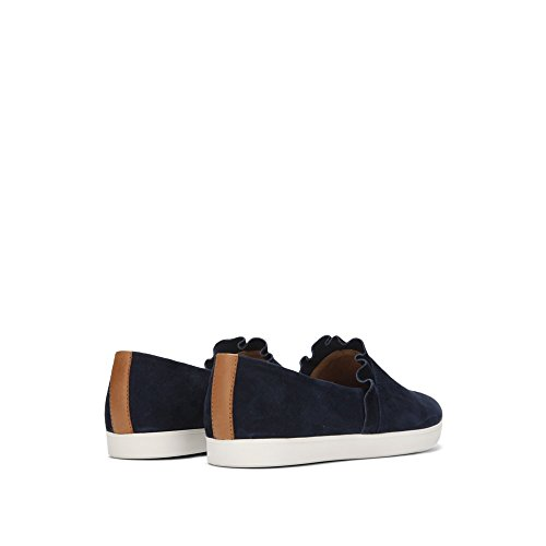 Milda Själar Av Kenneth Cole Avery Läder Sneaker - Womens Marinblå