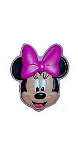 (Disney Minnie Mouse Face Lasercut Rubber Refrigerator Magnet)