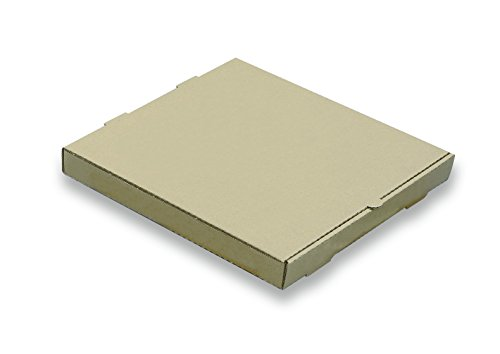 W PACKAGING WPPB12K2P Plain Pizza Box, B-Flute, 2