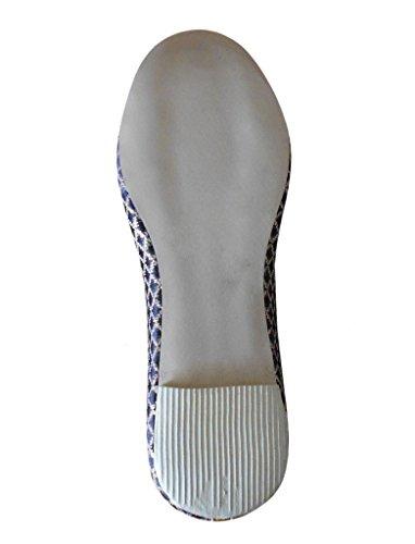 Kalra Creations - Zapatillas de estar por casa de Seda para hombre negro