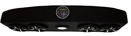 Froghead Industries EZGO304LED Four Speaker Bluetooth AM/FM Stereo System With RGB LED Speakers by Froghead Industries