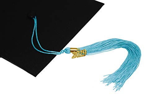 - GraduationMall SkyBlue Graduation Tassel with 2019 Year Charm 9