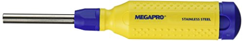 Megapro 151SS 15-In-1 Stainless Steel Driver, Yellow/Blue 15in 1 Screwdriver Tool