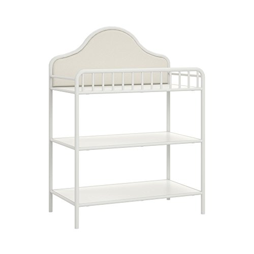 Little Seeds Piper Metal Changing Table, Cream by Little Seeds