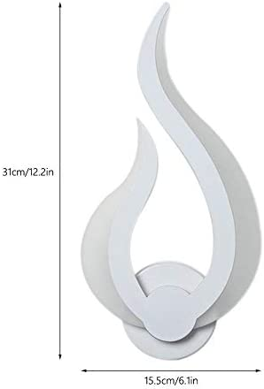 Noble 10W Moderne Minimalist Acryl Flamme Wandleuchte Wohnzimmer Balkon Treppenhaus Korridor Aisle Schlafzimmer Nachtlicht