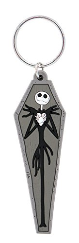 (Nightmare Before Christmas Novelty Key Ring, Multi Color)