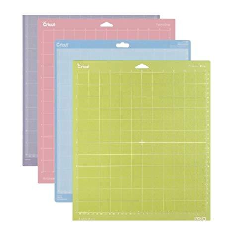 - Cricut Cutting Mat Variety 4 Pack , 12 in. x 12 in