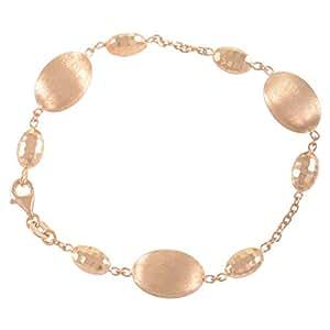 Daniela Coara Ladies 14K Gold Chain Bracelet, 18 cm