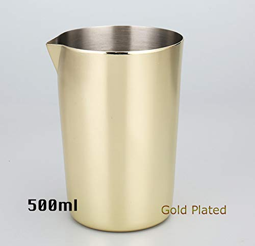 New Edify Ltd Stainless Steel Stirring Tin 500Ml Mixing Glass Preferred by Pros and Amateurs Alike Make Your Own Cocktails