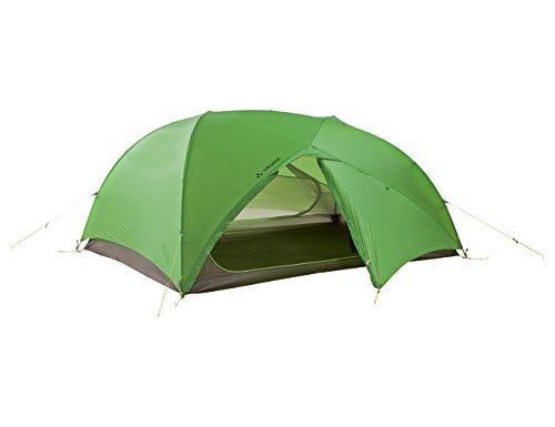(VAUDE Invenio Sul 3 Person Tent, Cress Green, Ultra-Light Throw-Over Construction)