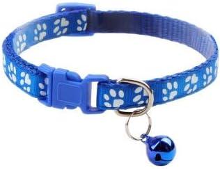 ZGQA-GQA Supplies Cat Collar with Bell Adjustable Buckle Collar Cat Pet Supplies Cat Accessories Collar Small Dog - Puppy Harness - Dog Seatbelt-1 Pcs-19-32cm-19-32cm