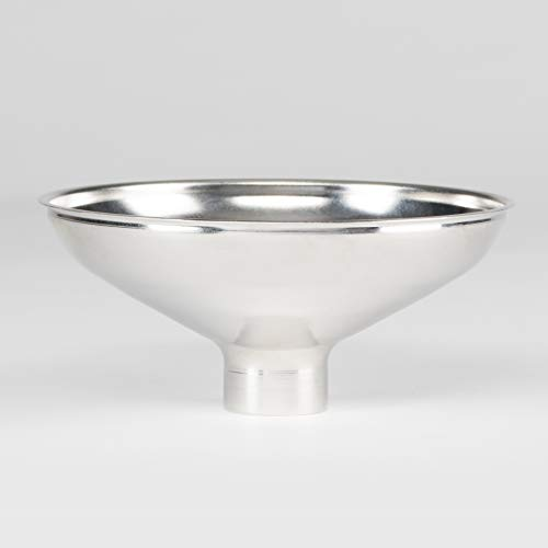 "AllSpice Stainless Steel Metal Spice Funnel - 1"" Bottom"