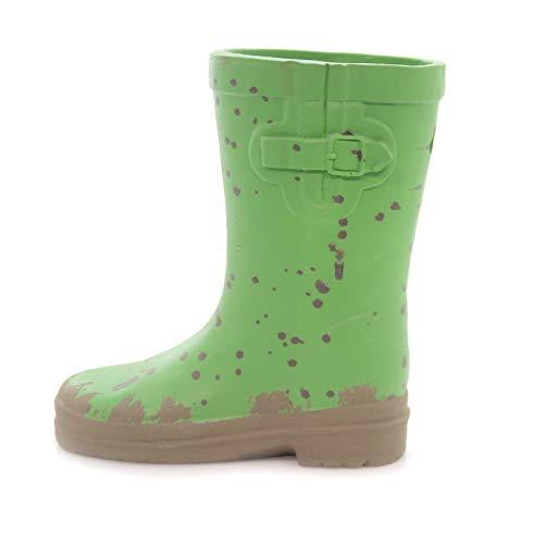 (Home & Garden Green RAIN Boot Planter Flower Spring Summer Wellies)