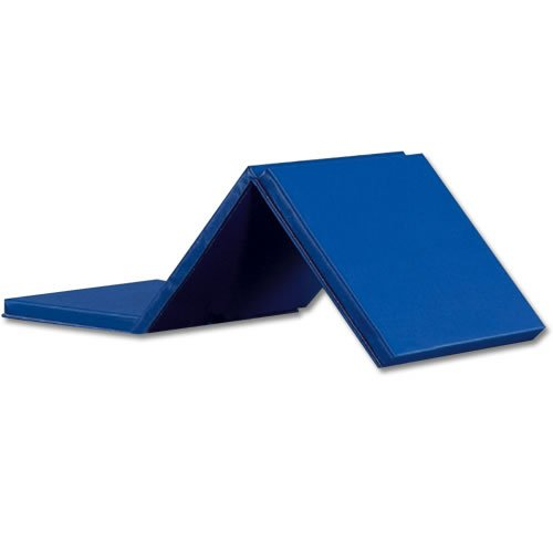 GSC Expando Folding Exercise Mat, Blue by Athletic Specialties
