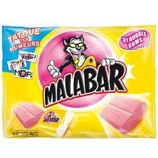 Malabar Chewing Gum 214g (Chewing Gum Wrapper)
