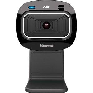 Microsoft LifeCam HD-3000 Webcam - 30 fps - USB 2.0 - 1280 x 720 Video - CMOS Sensor - Fixed Focus - Widescreen - Microphone - T3H-00011
