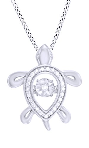 white-natural-diamond-accent-turtle-pendant-necklace-in-14k-white-gold-over-sterling-silver